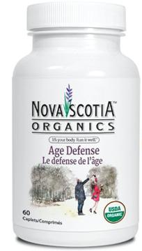 Picture of Nova Scotia Organics Age Defense, 60 Caplets