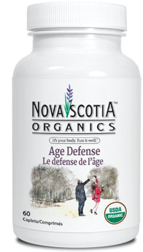 Picture of Nova Scotia Organics Age Defense, 60 Caplets
