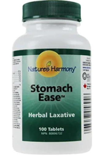 Picture of Nature's Harmony Stomach Ease Herbal Laxative, 250 Tablets