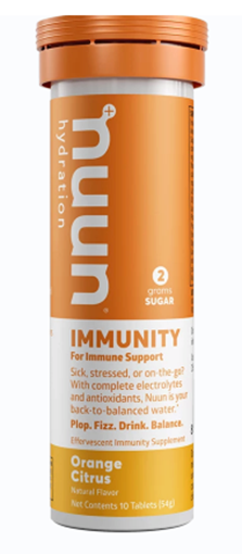 Picture of Nuun & Company, Inc Nuun Hydration Immunity, Orange Citrus, 10 Tablets x 8
