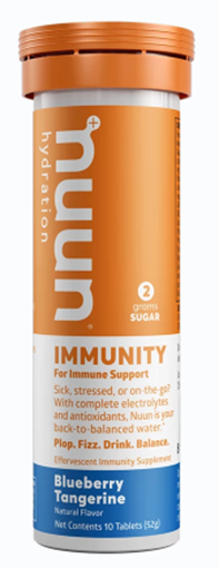 Picture of Nuun & Company, Inc Nuun Hydration Immunity, Blueberry Tangerine 10 Tablets x 8