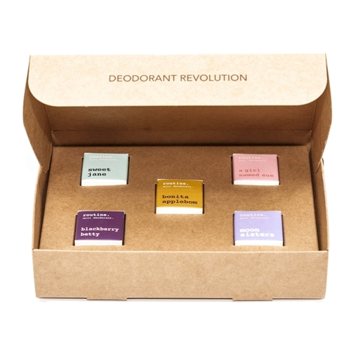 Picture of Routine Her Favs Minis Kit, 5 Mini Deodorants