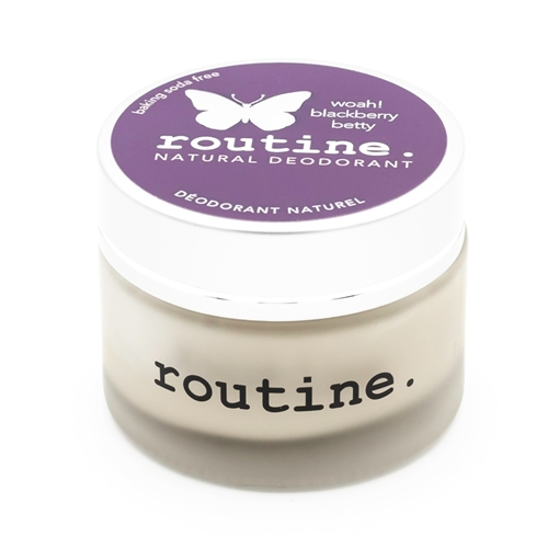 Picture of Routine Blackberry Betty (Baking Soda Free) Cream Deodorant, 58g