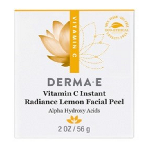 Picture of DERMA E Vit C Radiance Citrus Facial Peel, 2 oz