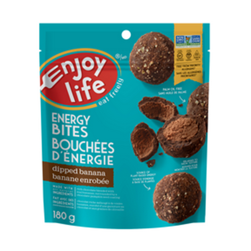 Picture of Enjoy Life Foods Dipped Banana Energy Bite, 6x180g