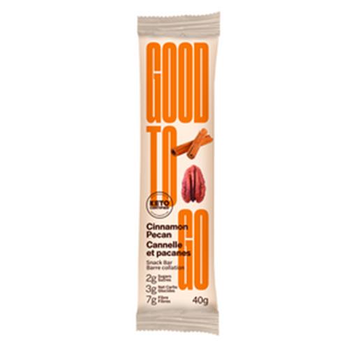 Picture of GOODTO GO Cinnamon Pecan Keto Bars, 9x40g