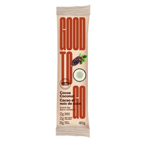 Picture of GOODTO GO Cocoa Coconut Keto Bars, 9x40g