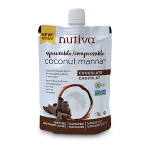 Picture of Nutiva Coconut Manna - Chocolate, 6x176 g