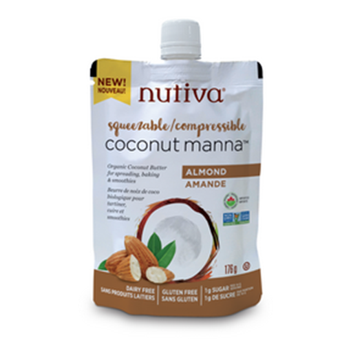 Picture of Nutiva Coconut Manna - Almond, 6x176 g