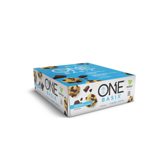 Picture of ONE Bars One Basix- Cookie Dough Chocolate Chunk, 12x60g