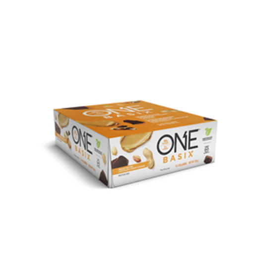 Picture of ONE Bars One Basix- Peanut Butter Choc Chunk, 12x60g