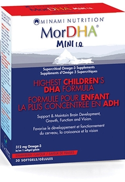 Picture of  MorDHA Mini IQ, 30 softgels