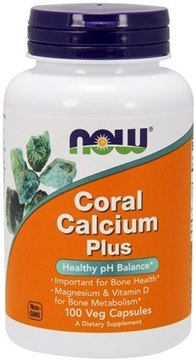Picture of NOW Foods Coral Calcium Plus, 100 Veg Capsules