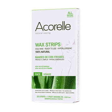 Picture of Acorelle Hair Removal Strips for Face 20 pack