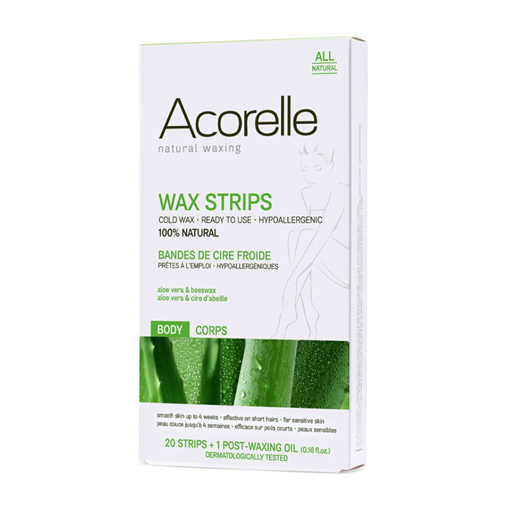 Picture of Acorelle Hair Removal Strips for Body 20 pack