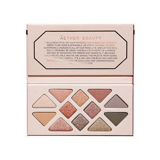 Picture of Aether Beauty Rose Quartz Crystal Gemstone Palette, 17g