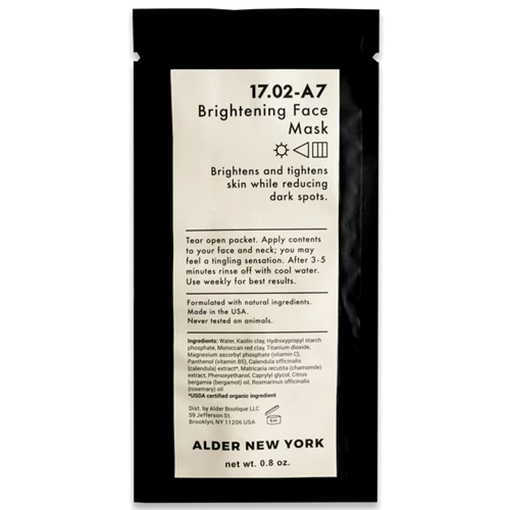Picture of Alder New York Brightening Face Mask, 23g