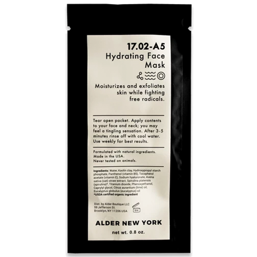 Picture of Alder New York Hydrating Face Mask, 23g