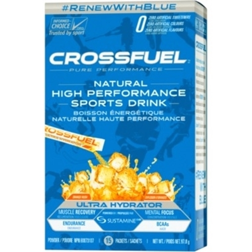 Picture of Crossfuel Ultra Hydration Orange, 15 Count