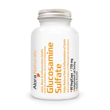 Picture of Alora Naturals Glucosamine Sulfate 750 mg, 90 Capsules