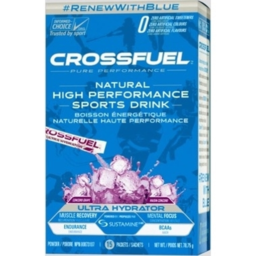 Picture of Crossfuel Ultra Hydration Grape, 15 Count