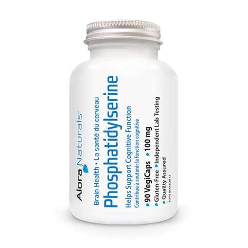 Picture of Alora Naturals Phosphatidylserine 100 mg, 90 Capsules