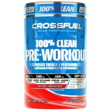 Picture of Crossfuel Pre-Workout Fruit Punch, 170g