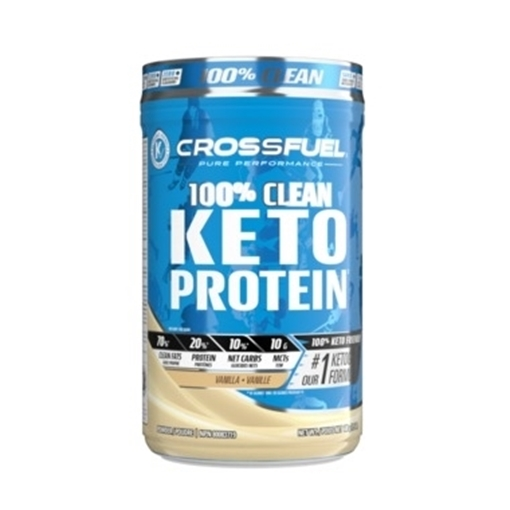 Picture of Crossfuel Keto Protein Vanilla, 680g