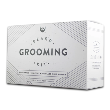 Picture of  Beard Grooming Kit, Eucalyptus + Lime, 5 Pack
