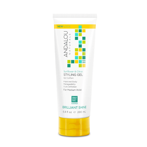 Picture of Andalou Naturals Sunflower Citrus Shine Styling Gel, 200ml