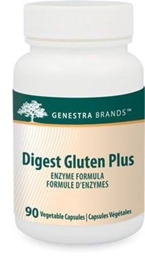 Picture of Genestra Brands Digest Gluten Plus, 90 Vegetable Capsules