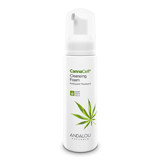 Picture of Andalou Naturals CannaCell Cleansing Foam, 163ml
