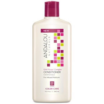 Picture of Andalou Naturals Conditioner, 1000 Roses Color Care, 340ml
