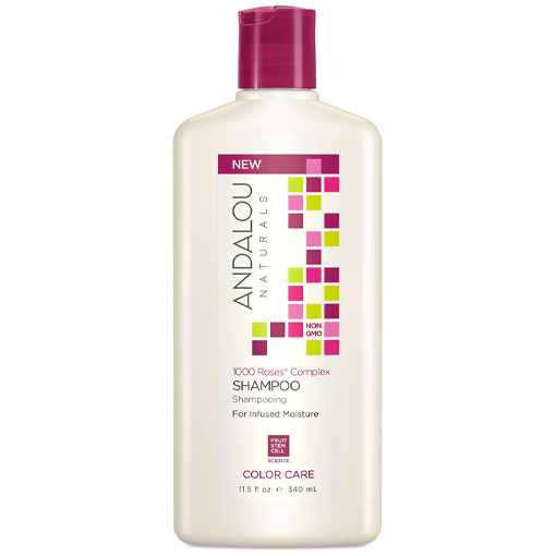 Picture of Andalou Naturals Shampoo, 1000 Roses Color Care , 340ml