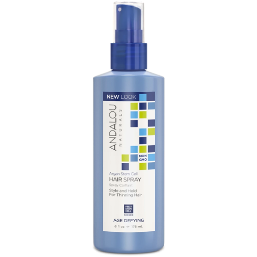 Picture of Andalou Naturals Argan Stem Cell Age Defying Hair Spray, 178ml