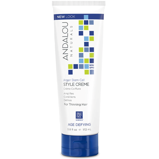 Picture of Andalou Naturals Argan Stem Cell Age Defying Style Creme, 172ml