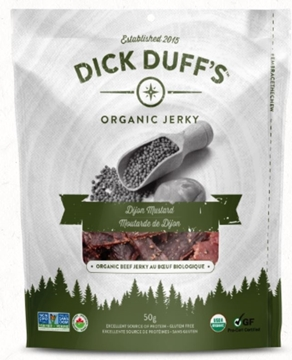 Picture of  Organic Dijon Mustard Beef Jerky, 50g