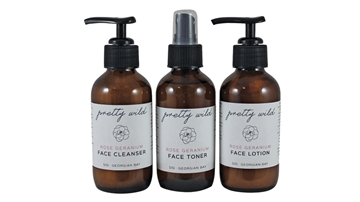 Picture of  Pretty Wild Rose Geranium Face Care Trio