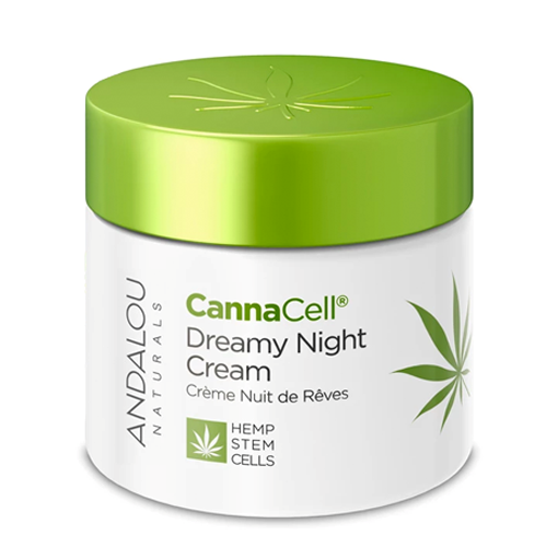 Picture of Andalou Naturals CannaCell Dreamy Night Cream, 50g