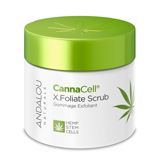 Picture of Andalou Naturals CannaCell X.Foliate Scrub, 50g