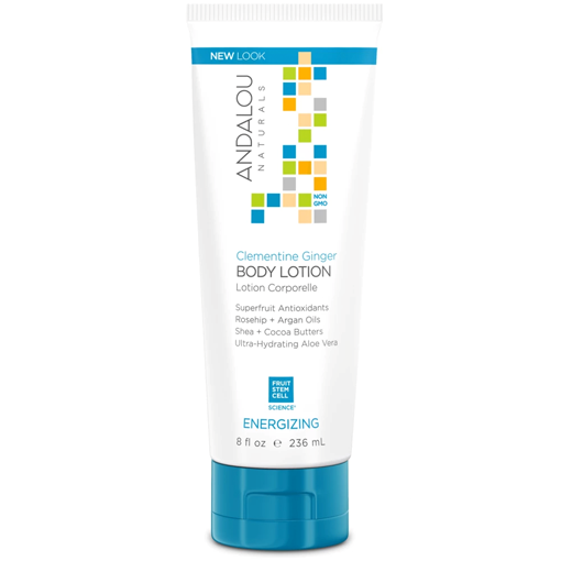 Picture of Andalou Naturals Clementine Ginger Energizing Body Lotion, 236ml