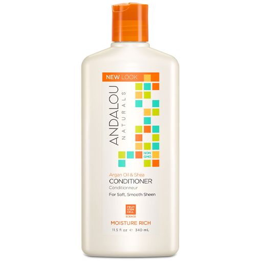 Picture of Andalou Naturals Argan Oil & Shea Moisture Rich Conditioner, 340ml
