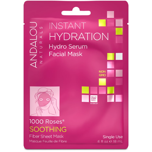 Picture of Andalou Naturals Instant Hydration Hydro Serum Facial Mask (Box of 6)
