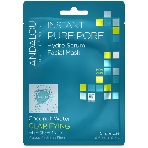 Picture of Andalou Naturals Instant Pure Pore Facial Mask (Box of 6)