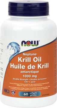 Picture of NOW Foods Neptune Krill 1000mg EntericCoated, 60gel