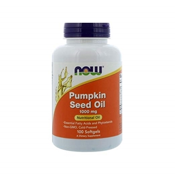 Picture of NOW Foods Pumpkin Oil 1000mg 100sgel