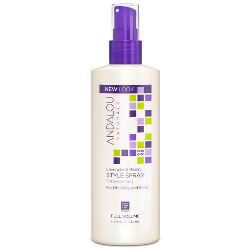 Picture of Andalou Naturals Lavender Biotin Volume Style Spray, 242ml