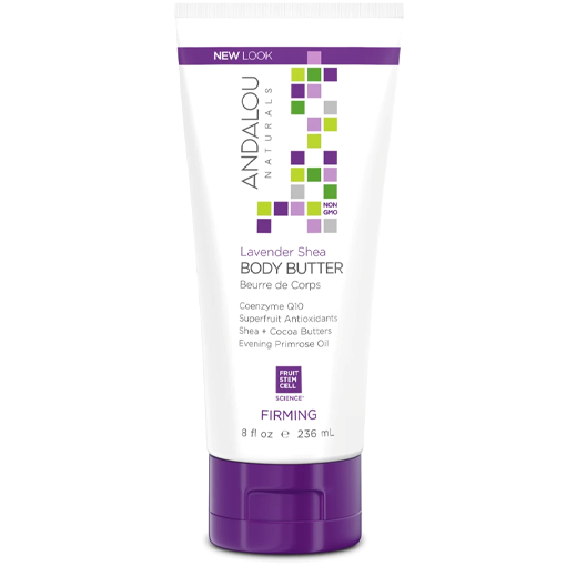 Picture of Andalou Naturals Lavender Shea Body Butter, 236ml