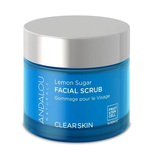 Picture of Andalou Naturals Lemon Sugar Facial Scrub, 50ml
