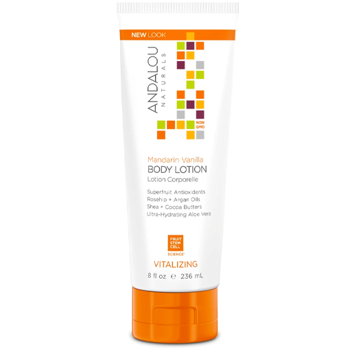 Picture of Andalou Naturals Mandarin Vanilla Vitalizing Body Lotion, 236ml